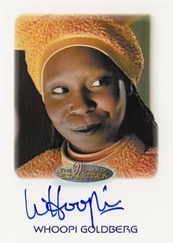 Autograph - Whoopi Goldberg as Guinan
