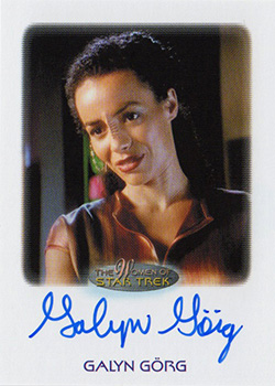 Autograph - Galyn Görg as Korena SIsko