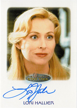 Autograph - Lori Hallier as Riley Frazier