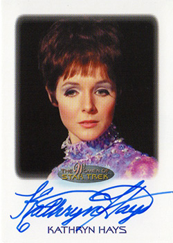 Autograph - Kathryn Hays as Gem?
