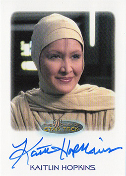 Autograph - Kaitlin Hopkins as Dala