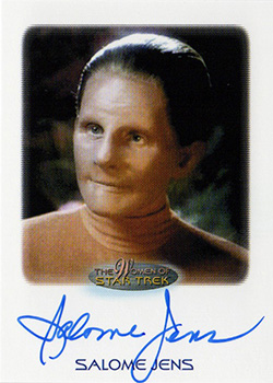 Autograph - Salome Jens as Female Shapeshifter