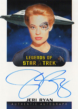 Autograph - Jeri Ryan as Seven of Nine