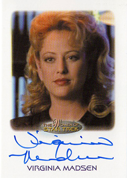 Autograph - Virginia Madsen as Kellin