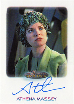 Autograph - Athena Massey as Jessen