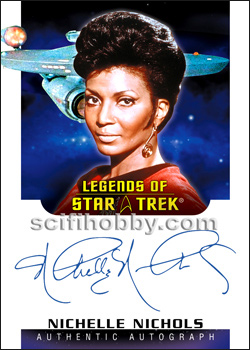 Nichelle Nichols Legends of Star Trek Autograph Card