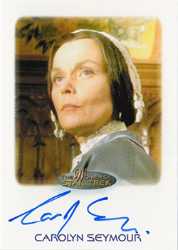 Autograph - Carolyn Seymour as Mrs. Templeton