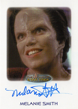 Autograph - Melanie Smith as Tora Ziyal