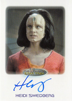Autograph - Heidi Swedberg as Rekelen