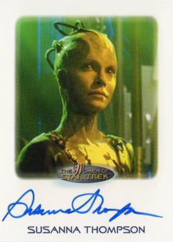 Autograph - Susannah Thompson as Borg Queen