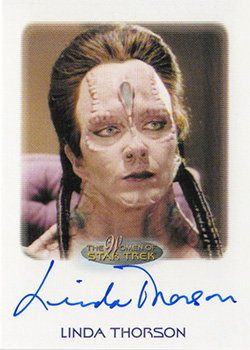 Autograph - Linda Throson as Gul Ocett