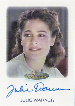 Autograph - Julie Warner as Christy Henshaw