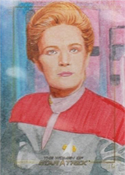 Roy Cover Sketch - Kathryn Janeway
