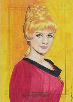Roy Cover Sketch - Janice Rand