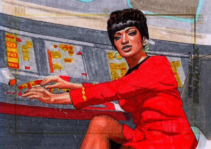Roy Cover Sketch - Uhura