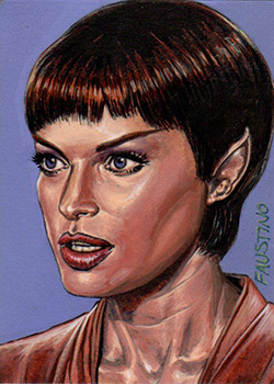 Norman Faustino Sketch - T'Pol