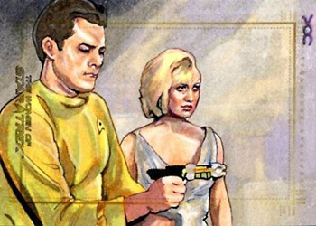 Veronica O'Connell Sketch - Christopher Pike and Vina