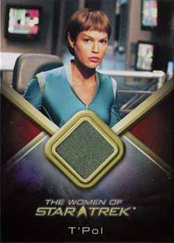 WCC11 T'Pol Variant Costume Card